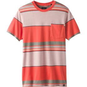 Prana Dominic T-shirt à col ras-du-cou Homme, koi
